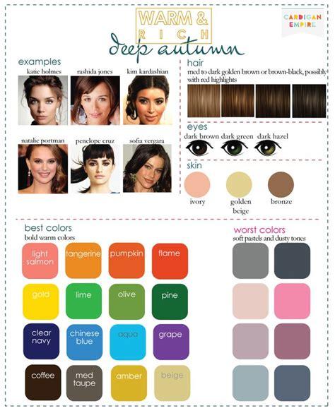 best hair color for deep winters 25 best ideas about deep autumn on pinterest dark