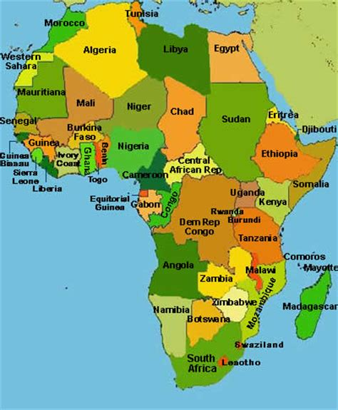 maps 4 africa mrs world map country