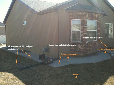 basement footings walls poured wrong now basement leaks