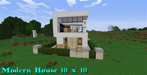 fancy minecraft houses fancy modern minecraft house modern house 10x10 minecraft