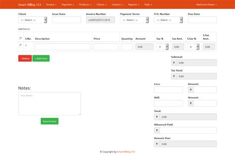 invoice template for asp net sc com