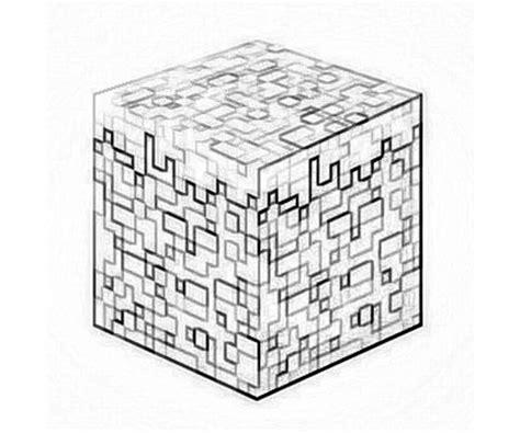 Minecraft Block Coloring Page | minecraft character yumiko fujiwara