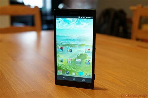 Hp Android Sony Xperia Zl android 4 4 4 update now available for sony xperia z and zl mobilesyrup
