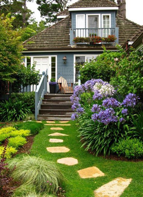 decoracion de jardines con piedras y flores 1001 ideas sobre c 243 mo decorar un jard 237 n peque 241 o