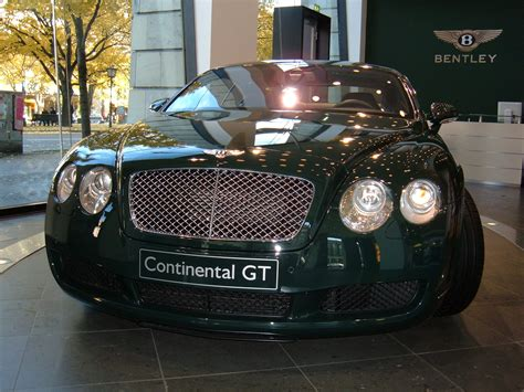 bentley green history continental ag autos post