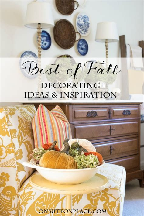 Fall Decor Inspiration For Your Best Of Fall Decorating Ideas Inspiration