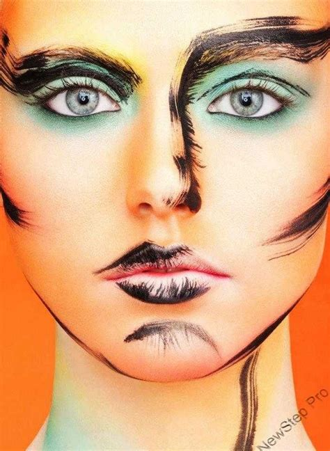 Mascara Dan Eyeliner 82 best abstract make up images on artistic make up makeup artistry and hair dos