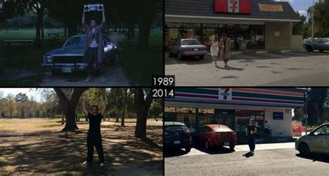 famous scenes then and now see famous l a movie locations then and now