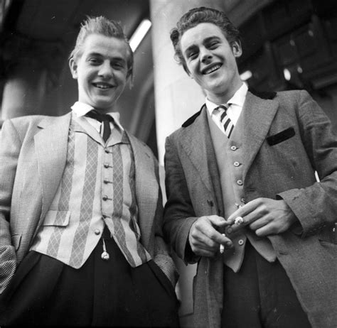 The Bad Boy In Suit By Yessy N original hipsters the stylish teddy boys of the 1950 s