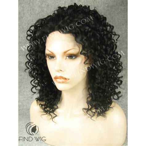 Medium Wig medium black curly wig colorful cheap wigs