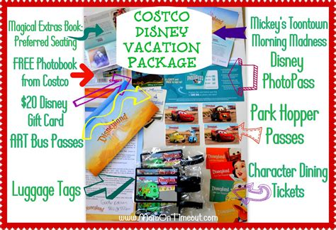 Costco Gift Card Packages - our costco disney vacation package mom on timeout