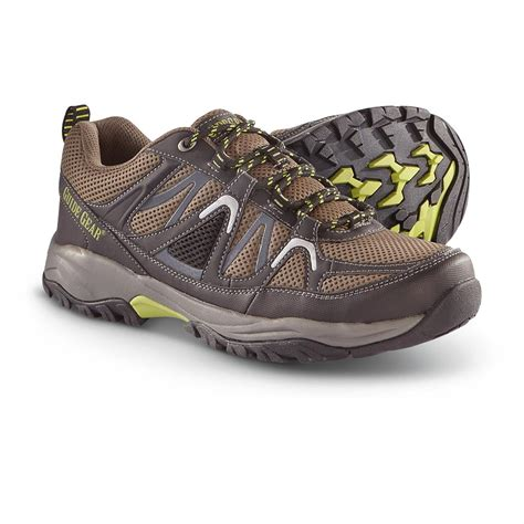 s guide gear mesabi trail hiking shoes gray 608454