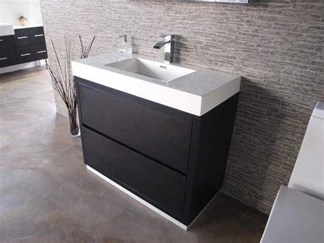 Modern Bathroom Vanities Toronto Floor Mount Bliss Line Modern Bathroom Vanities And Sink Consoles Toronto By Toronto Vanity