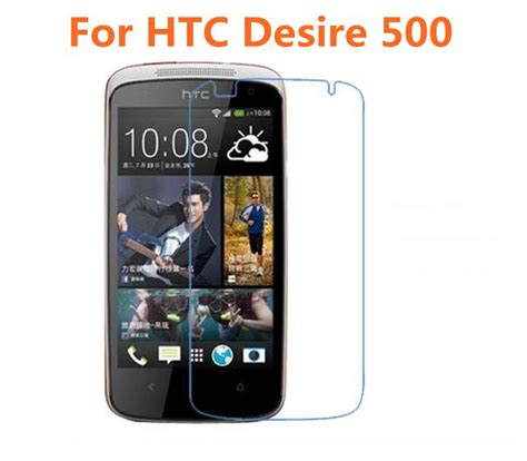 Htc Desire E8 Tempered Glass The Best Original 100 buy wholesale nuglas screen protector from china