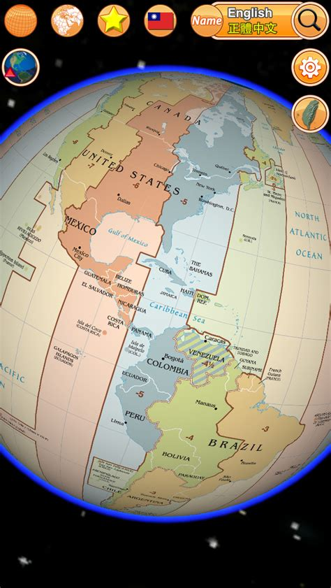 globe enterprise maps application globe earth 3d pro flags anthems and world time zones