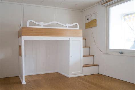 costruire soppalco letto letti a soppalco letti su misura in legno legnoeoltre