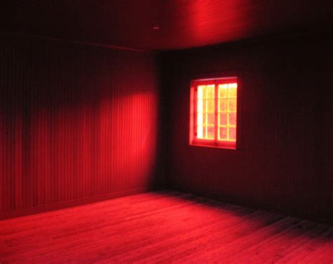 red room items similar to crimson red room interior surreal