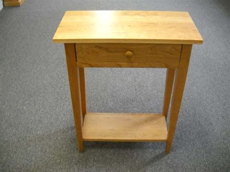 Shaker Furniture Of Maine by Shaker Furniture Of Maine 187 Cherry Table With Shelf