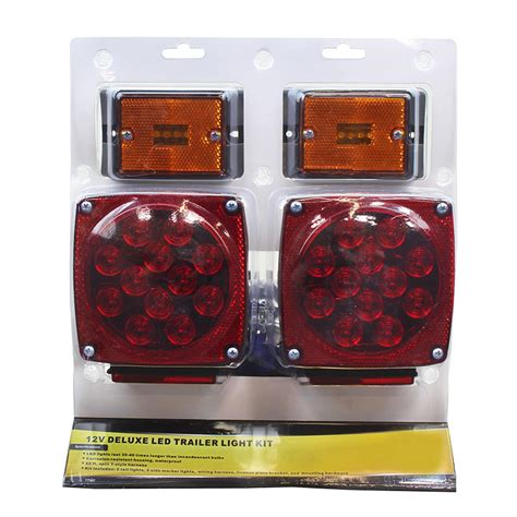 holiday deals 12 volt submersible led trailer light kit