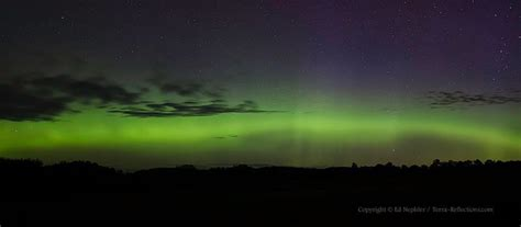 Northern Lights Michigan Forecast by Northern Lights Wisconsin Last Today S Image
