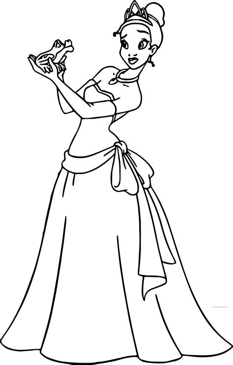princess and the frog coloring pages disney the princess and the frog coloring page