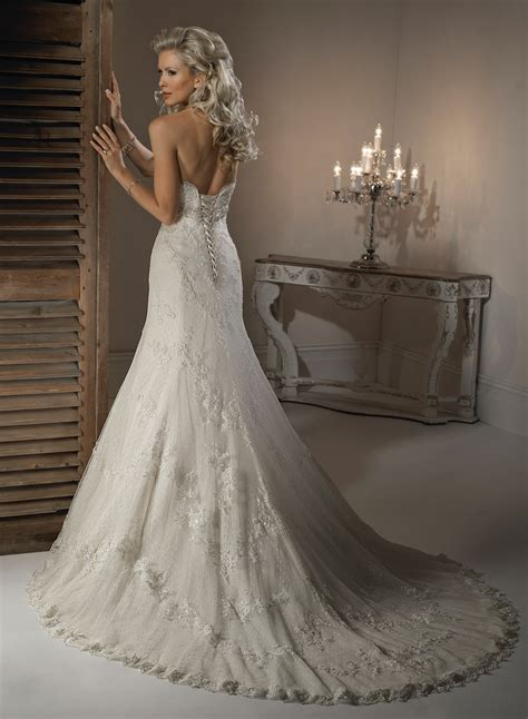 Which Wedding Dress by Get Intrigued With A Line Wedding Dresses Ohh My My