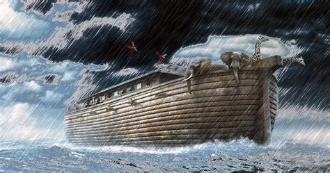 ark boat exhibit the flood the last link between quot our quot world and quot theirs
