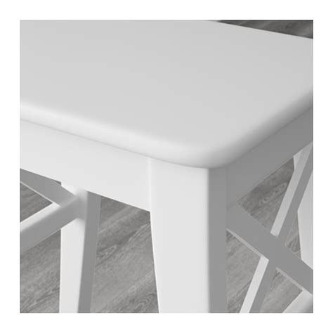 ikea ingolf bench ingolf stool white ikea