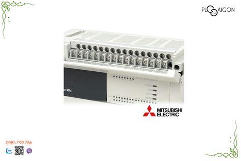 Mitsubishi Plc Fx3u 32mt Es A plc mitsubishi fx3u 48mr es a bộ lập tr 236 nh plc