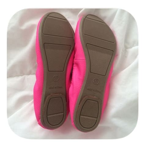 navy sale nwt bright pink flats from