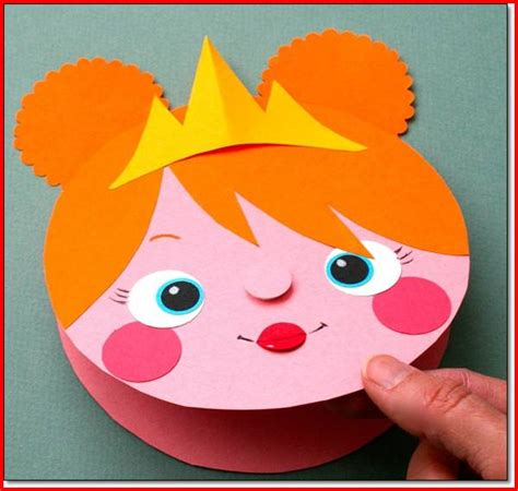 Construction Paper Craft - arts and crafts for with construction paper