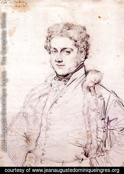 Jean Charles Robert by Jean Auguste Dominique Ingres The Complete Works