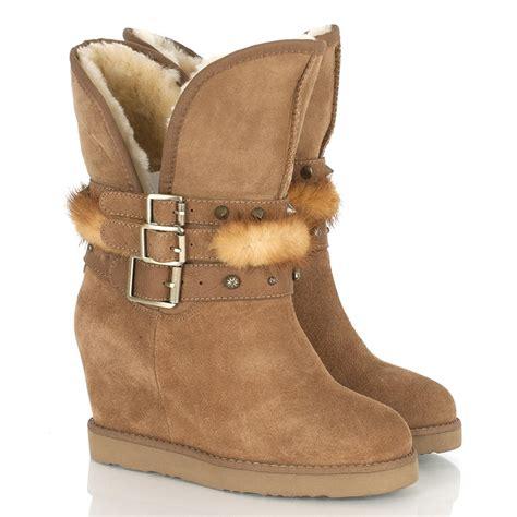 australia luxe women s wedge hatchet ankle boot