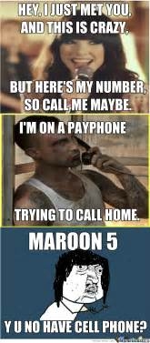 No Phone Meme - adam levine has no cell phone by whoawow meme center