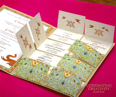 indian wedding cards printing singapore 18 unique creative wedding invitation ideas for your 2018 shaadi