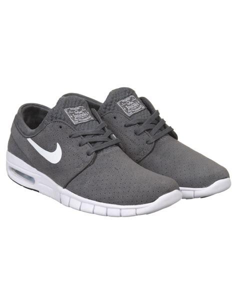 Nike Stefan Janosky Grey nike sb stefan janoski max l shoe grey white nike