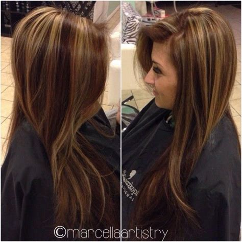 hairstyles women chocolate brown and caramel ends hair color chocolate brown with golden highlights or