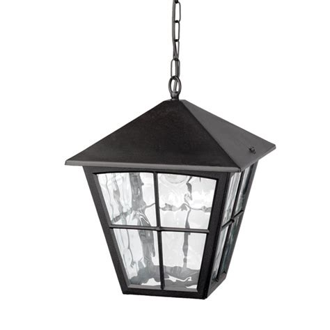 Hanging Porch Lights by Porch Chain Lantern In Black Aluminium Ideal For Larger Homes