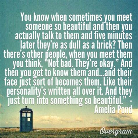 pond quotes doctor who quote said by amelia pond i actually created