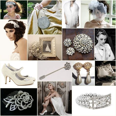 vintage inspiration wedding dresses and accessories