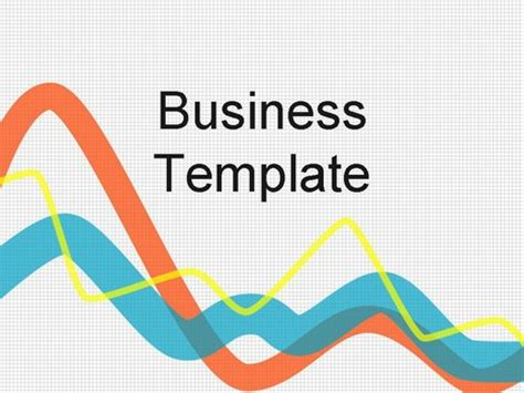 Graph Business Template Powerpoint Graph Templates