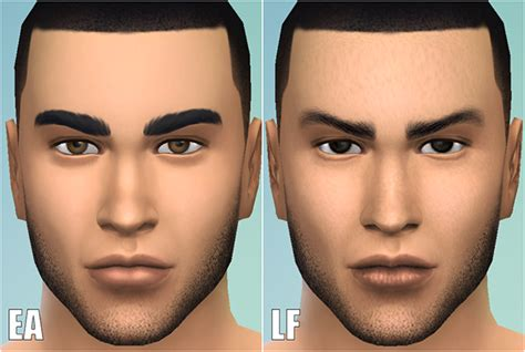 sims 3 default replacement skin my sims 4 blog default skin replacement by lightfire