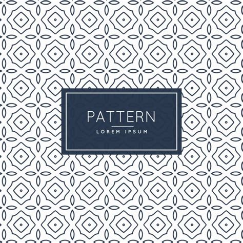 pattern classic vector vintage pattern background vector free download