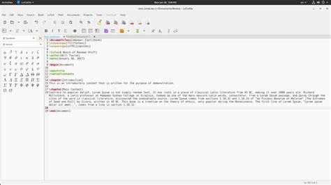 tutorial latex editor introduction to latexila a multi language latex editor