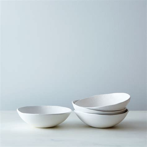 Handcrafted Dinnerware - handmade porcelain textured dinnerware handmade
