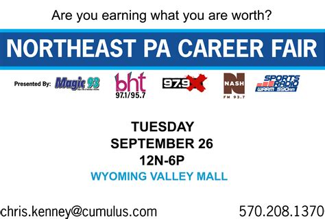 pa careerlink job fair northeast pa career fair wbht fm