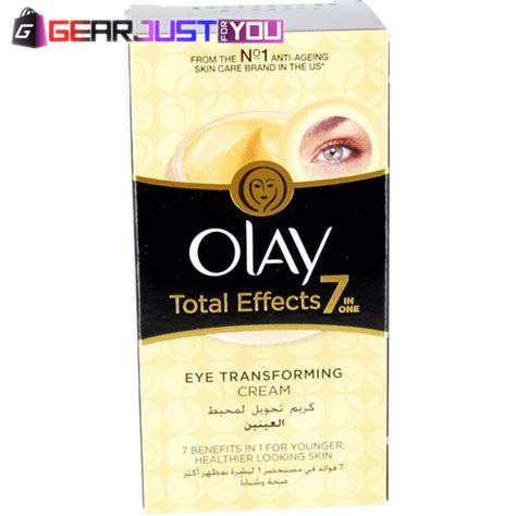 Olay Total Effects 7in1 Anti Ageing Eye olay total effects anti aging 7 in 1 eye transforming treatment gear just for you
