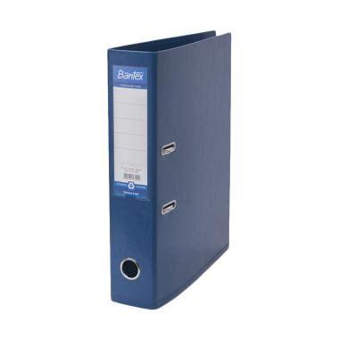 Ordner Bantex 1450 Ukuran A4 Biru jual produk ordner bantex harga promo diskon blibli