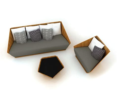 Origami Products - origami lounge sofas from deesawat architonic