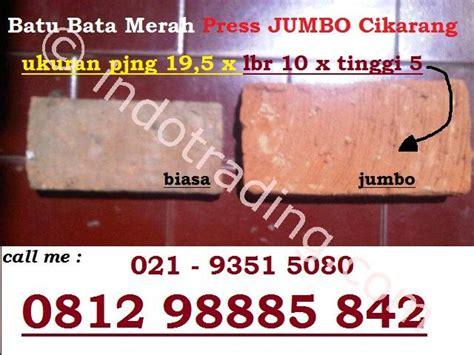 Jual Rockwool Di Karawang jual batu bata merah press jumbo harga murah cikarang oleh